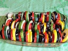 Фото к двенадцатому шагу приготовлению рецепта Овощной рататуй