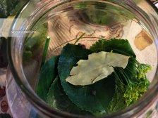 Фото к третьему шагу приуготовлению рецепта Соленые огурцы на зиму