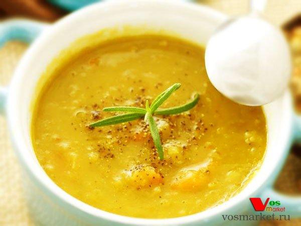 Фото готового блюда: Гороховый суп-пюре