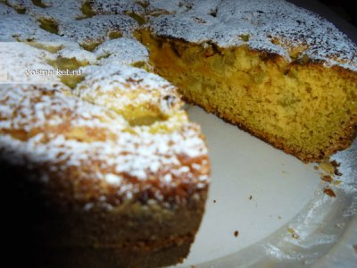 Главное фото рецепта Пирог 'Шарлотка с ревенем'