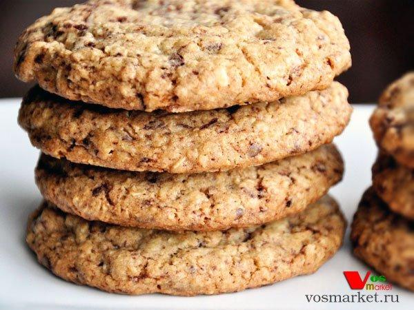 Рецепт фитнес печенья из овсяных хлопьев 10