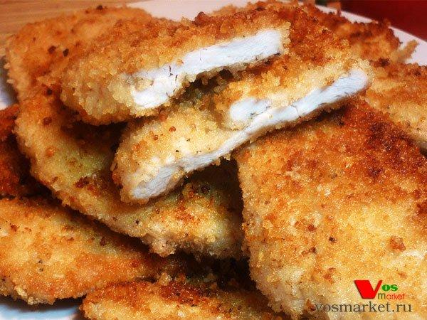 Филе куриное с сыром в панировке 10