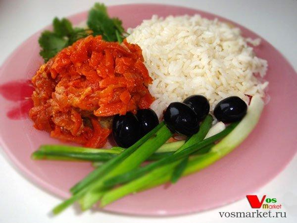 Главное фото рецепта Рыба в томате с морковью
