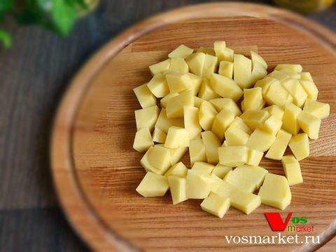 Фото Грибной суп с перловкой шаг 5