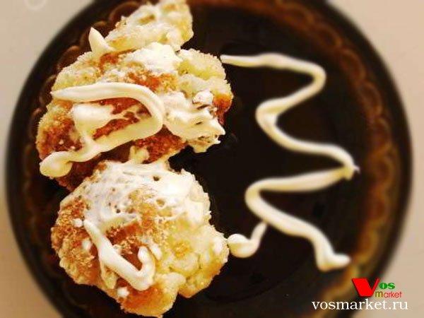 Главное фото рецепта Яичница с цветной капустой