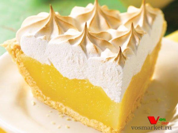 Главное фото рецепта Лимонный пирог с меренгой