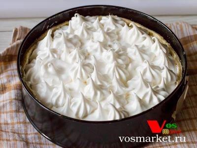 Фото Лимонный пирог с меренгой шаг 5