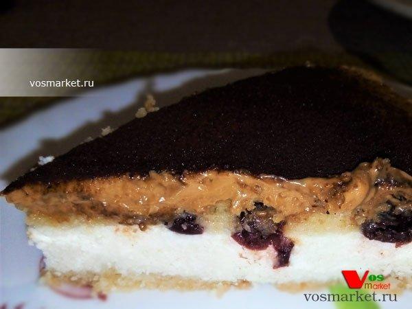 Главное фото рецепта Творожный пирог в духовке