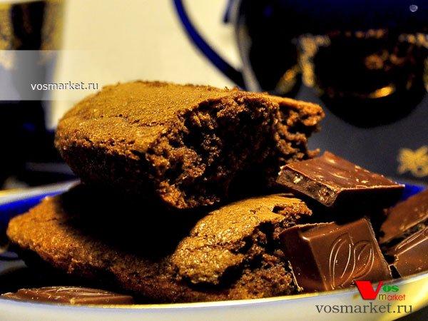 Главное фото рецепта Шоколадный брауни пирог