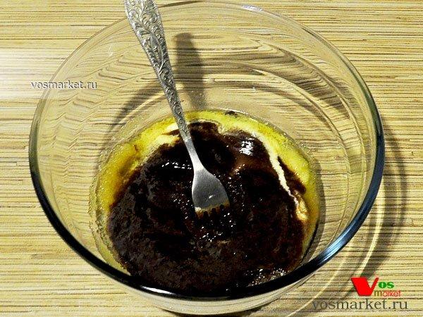 Фото Шоколадный брауни пирог шаг 5