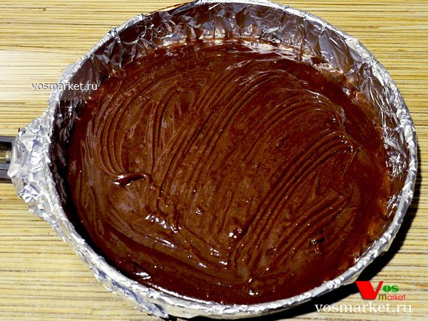 Фото Шоколадный брауни пирог шаг 10