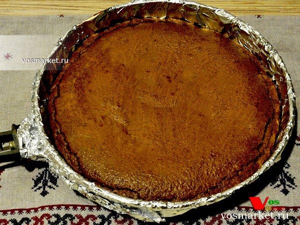 Фото Шоколадный брауни пирог шаг 11