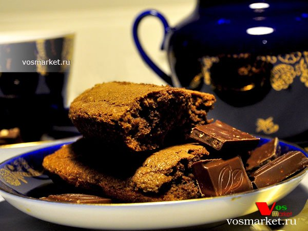 Фото Шоколадный брауни пирог шаг 13