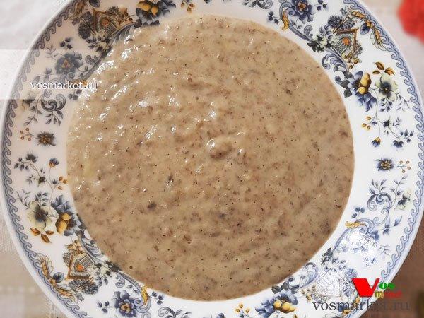 Главное фото рецепта Суп-пюре грибной со сливками
