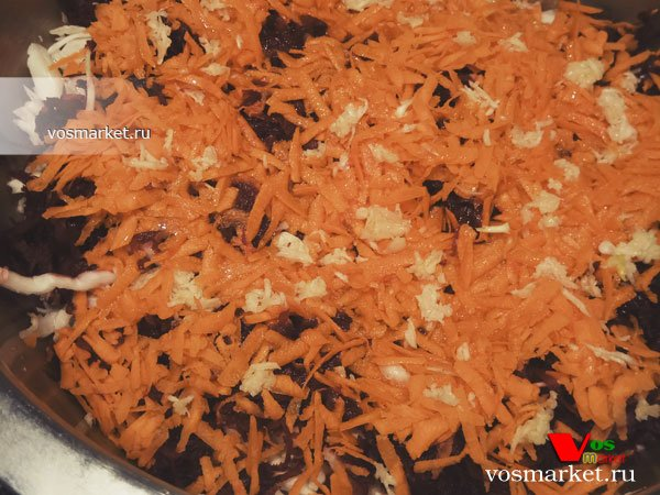 Фото Овощной салат без майонеза шаг 13
