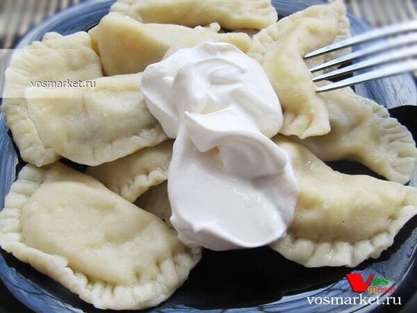 Главное фото рецепта Тесто для вареников на воде