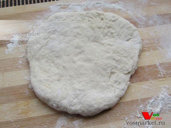 Фото Дрожжевое тесто для пирожков шаг 9
