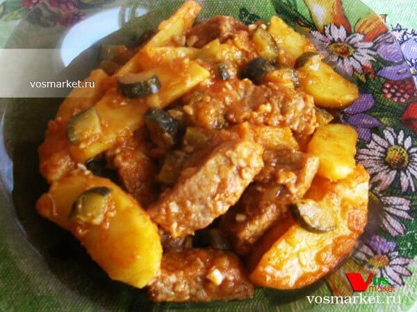 Главное фото рецепта Азу из свинины