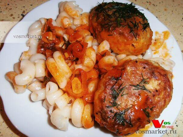 Главное фото рецепта Рыбные котлеты в соусе