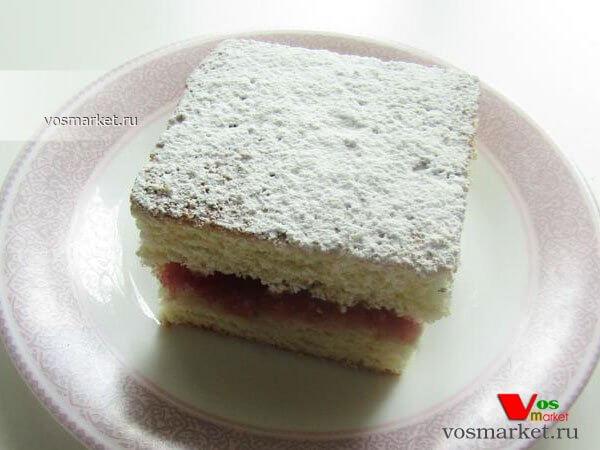 Главное фото рецепта Классический бисквит для торта