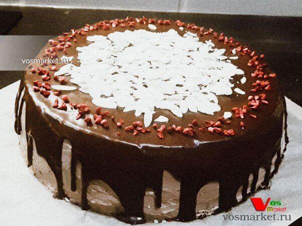Главное фото рецепта Шоколадный бисквитный торт